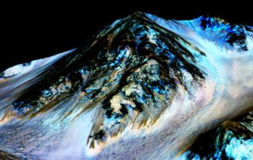 Lanie wody na Marsie